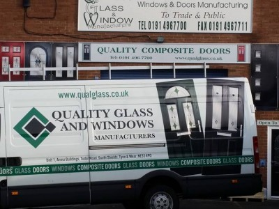 quality glass van